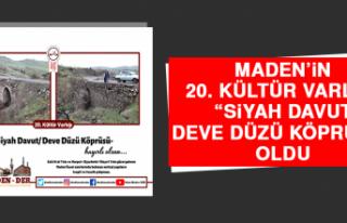 "Maden'in 20. Kültür Varlığı ""Siyah Davut/..."