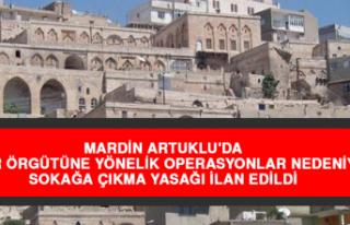 Mardin Artuklu'da Terör Örgütüne Yönelik...