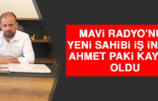 Mavi Radyo'nun Yeni Sahibi İş İnsanı Ahmet Paki...