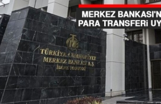Merkez Bankası'ndan Para Transferi Uyarısı