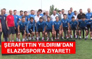 Şerafettin Yıldırım'dan Elazığspor'a Ziyaret