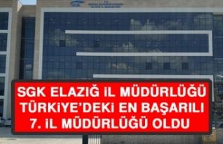 SGK Elazığ İl Müdürlüğü, Türkiye'deki En...
