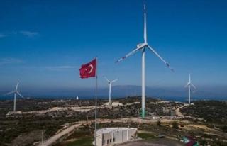 Türkiye'nin rüzgar enerjisi kurulu gücü 10...