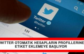 Twitter Otomatik Hesapların Profillerine Etiket Eklemeye...