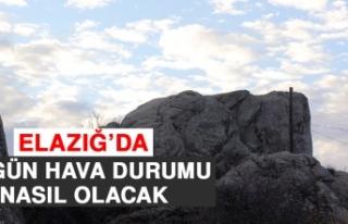 13 Ekim'de Elazığ'da Hava Durumu Nasıl Olacak?