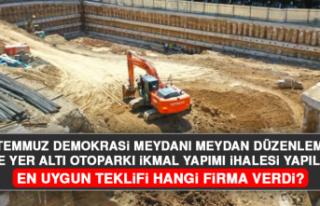 15 Temmuz Demokrasi Meydanı Meydan Düzenlemesi ve...