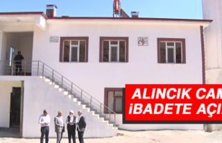 Alıncık Camisi İbadete Açıldı