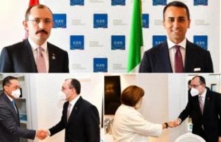 Bakan Muş, G20 toplantısı öncesinde ikili görüşmelerde...