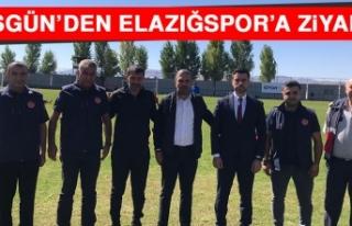 Başgün'den Elazığspor'a Ziyaret