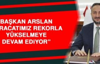 Başkan Arslan: İhracatımız Rekorla Yükselmeye...