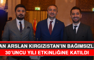 Başkan Arslan, Kırgızistan'ın Bağımsızlığının...