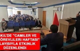 """Baskil'de """"Camiler ve Din Görevlileri Haftası""""..."""
