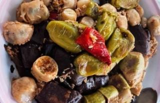 Cizre mutfağının vazgeçilmez lezzeti 'Şımşıpe'...