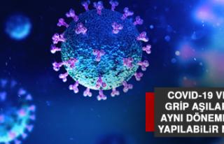 Covıd-19 Ve Grip Aşıları Aynı Dönemde Yapılabilir...