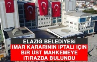 Elazığ Belediyesi İmar Kararının İptali İçin...