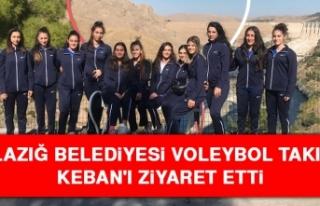 Elazığ Belediyesi Voleybol Takımı Keban'ı...