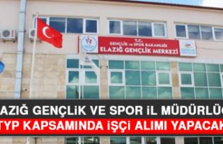Elazığ Gençlik ve Spor İl Müdürlüğü, TYP...