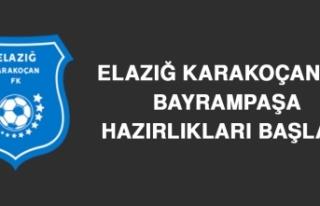 Elazığ Karakoçan'da Bayrampaşa Hazırlıkları...