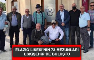 Elazığ Lisesi'nin 73 Mezunları Eskişehir'de...