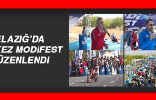 Elazığ'da Modifiyeli Araç ve Motosiklet Festivali...