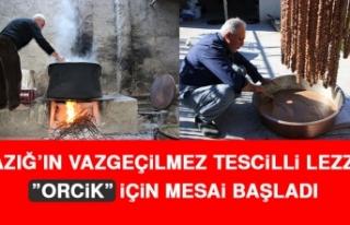 "Elazığ'ın Vazgeçilmez Tescilli Lezzeti ""Orcik""..."