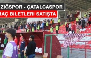 Elazığspor - Çatalcaspor Maç Biletleri Satışta