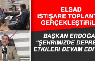 ELSAD İstişare Toplantısı Gerçekleştirildi