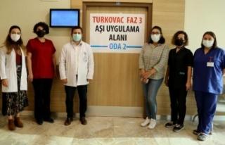 Erzurum'da TURKOVAC'ın Faz-3 çalışması...
