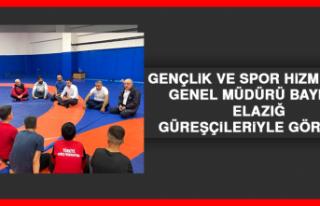 Gençlik ve Spor Hizmetleri Genel Müdürü Baykan,...