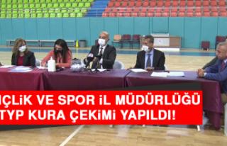 Gençlik ve Spor İl Müdürlüğü TYP Kura Çekimi...