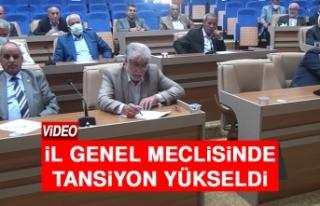 İl Genel Meclisinde Tansiyon Yükseldi