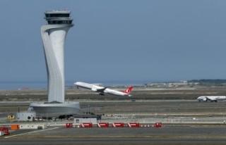 İstanbul Havalimanı sefer sayısıyla Avrupa 2'ncisi...