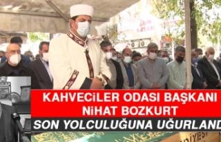 Kahveciler Odası Başkanı Bozkurt'a Son Görev