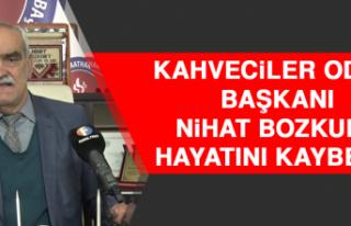 Kahveciler Odası Başkanı Nihat Bozkurt Hayatını...