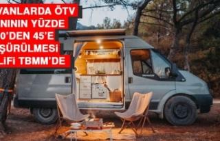 Karavanlarda ÖTV Oranının Yüzde 220'den 45'e...