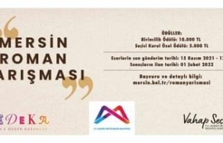 Mersin Büyükşehir Belediyesi'nden ödüllü roman...