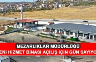 Mezarlıklar Müdürlüğü Yeni Hizmet Binası, Açılış...