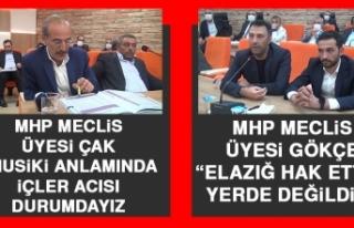 MHP'li Belediye Meclis Üyeleri Meclis Toplantısında...