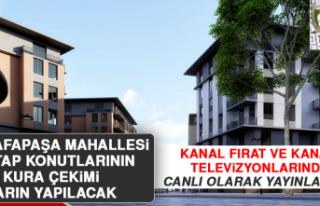 Mustafapaşa Mahallesi 2. Etap Konutların Kurası...