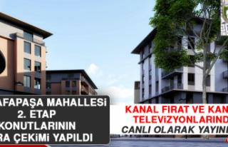 Mustafapaşa Mahallesi 2. Etap Konutlarının Kura...