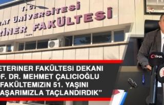 Prof. Dr. Çalıcıoğlu: Fakültemizin 51. Yaşını,...