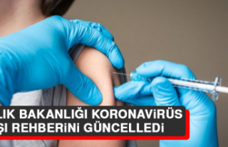 Sağlık Bakanlığı Koronavirüs Aşı Rehberini...