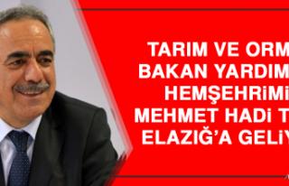 Tarım ve Orman Bakan Yardımcısı Hemşehrimiz Tunç,...