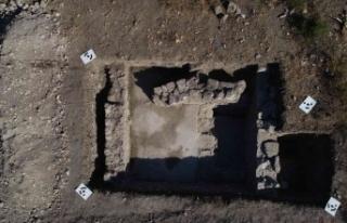 Troya Resmi Kazılarındaki mozaik buluntusu yeni...