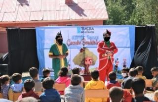 Tuşba Belediyesinden öğrencilere yönelik tiyatro...