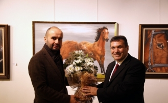 'Atların Rüyası' adlı resim sergisi OSM'de açıldı