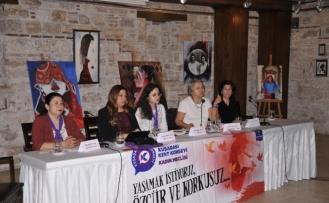 Kadınların sorunları Kuşadası'nda masaya yatırıldı