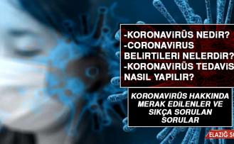 Koronavirüs Hakkında Merak Edilenler Sorulan Sorular