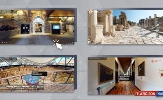 Sanal müzeler ve ören yerleri 11 milyon 400 bin kez ziyaret edildi