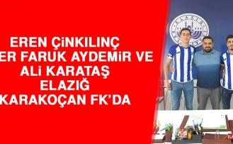 Eren, Ömer Faruk ve Ali E.Karakoçan FK'da